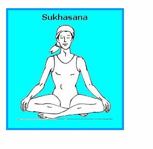 Sukhasana (Easier Posture)
